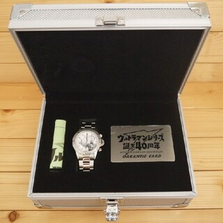 セイコー(SEIKO)のウルトラマン ゲルマ二ウム腕時計 誕生40周年記念:限定4000本(特撮)