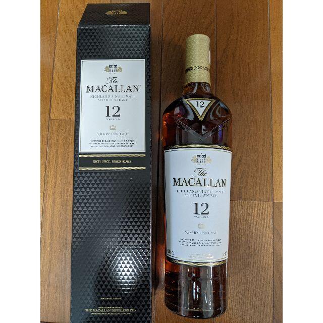 サントリー(サントリー)のマッカラン 12年 シェリーオークカスク 700ml 新品未開封 食品/飲料/酒の酒(ウイスキー)の商品写真