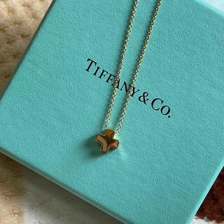 ティファニー(Tiffany & Co.)のTIFFANY&Co ティファニー 750 ローマンクロス ネックレス(ネックレス)