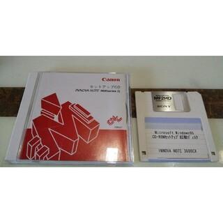 キヤノン(Canon)のCanon ノートパソコン イノーバノート 3600シリーズ用 セットアップCD(その他)