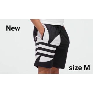 adidas - 新品 M adidas orignals  ハーフパンツ トレフォイル 黒