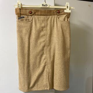 ドルチェアンドガッバーナ(DOLCE&GABBANA)のD&G スカート 36(ひざ丈スカート)