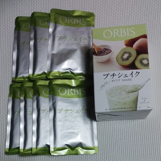 オルビス(ORBIS)のプチシェイクキウイ&チアシード(ダイエット食品)