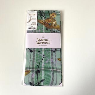 Vivienne Westwood - ヴィヴィアンウエストウッド レディース プリント ソックス タータン グリーン