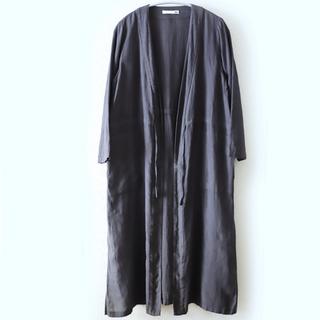 エヴァムエヴァ(evam eva)のevam eva linen robe(カーディガン)