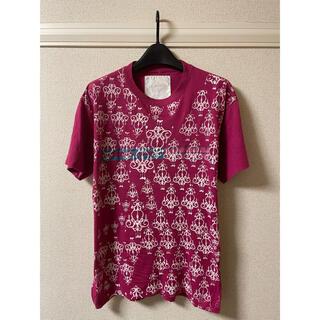 ローランドベリー(ROLLAND BERRY & RBC)のローランド ベリー クリエイト RBC Tシャツ カットソー 半袖 プリント 紫(Tシャツ/カットソー(半袖/袖なし))