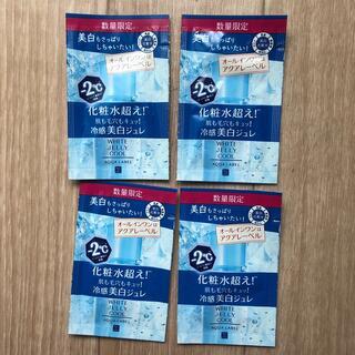 アクアレーベル(AQUALABEL)のアクアレーベル ホワイトジュレ 美白化粧水 4包(化粧水/ローション)