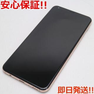 エルジーエレクトロニクス(LG Electronics)の新品同様 SIMロック解除済 L-01L LG style2 ゴールド (スマートフォン本体)