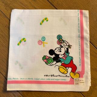 ディズニー(Disney)のミッキーマウス レトロなハンカチ(その他)