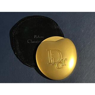 クリスチャンディオール(Christian Dior)の未使用 DIOR  クリスチャンディオール ノベルティ ゴールド ミラー(ミラー)