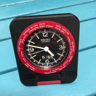 セイコー(SEIKO)の携帯用アラームクロック(置時計)
