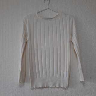 MACPHEE シルク100%サマーセーター 美品 サイズ9号 生成色