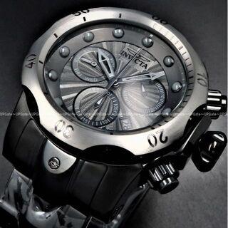 インビクタ(INVICTA)の最上位高級★クールなオールブラック INVICTA Venom 23899(腕時計(アナログ))