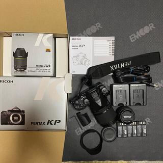 PENTAX - Pentax KP ブラック 18-135mm 防塵防滴セット+純正アクセ多数
