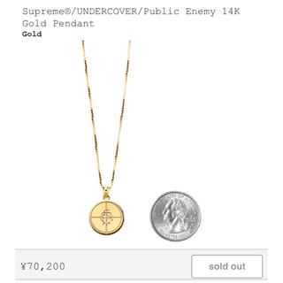 Supreme - Supreme UNDERCOVER PUBLICENEMY 14K Gold