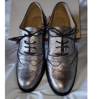 BARCLAY - BARCLAYオックスフォード革靴ガンメタルカラー