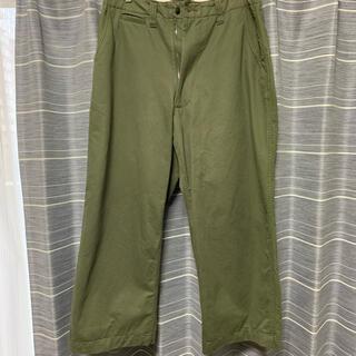 ヤエカ(YAECA)のE.TAUTZ Core Field Trousers(ワークパンツ/カーゴパンツ)