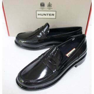 ハンター(HUNTER)の定価16500 新品 本物 HUNTER メンズ ローファー JP26 2039(長靴/レインシューズ)