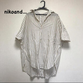 niko and... - 後ろ開きビックシャツ