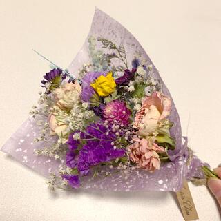 ドライフラワー 母の日スワッグ 64 ブーケ 花束 インテリア(ドライフラワー)