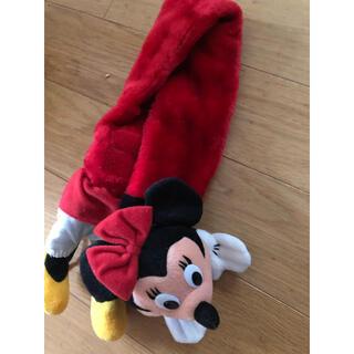 ディズニー(Disney)のミニーちゃんマフラー(マフラー/ストール)