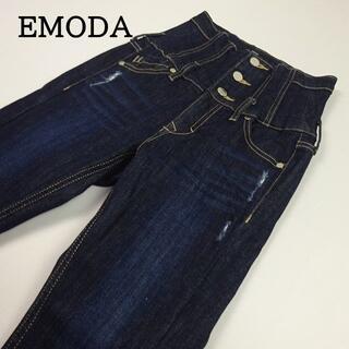 EMODA - EMODA スウィッチングベルトハイウエストパギンス 1 ウエスト約68cm