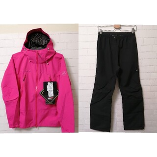 Mammut - 【新品】MAMMUT Ws CLIMATE Rain-Suit L ピンク