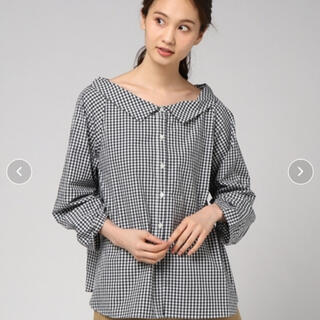 アングローバルショップ(ANGLOBAL SHOP)のアングローバルショップ fordmills 2wayシャツ 美品(シャツ/ブラウス(長袖/七分))