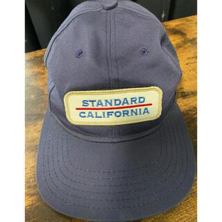 スタンダードカリフォルニア(STANDARD CALIFORNIA)のスタンダードカリフォルニア キャップ ネイビー(キャップ)