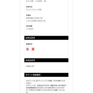 【JAPAN JAM】ジャパンジャムチケット 5/3 1枚(音楽フェス)