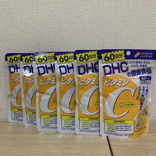 DHC - 【6袋セット】DHC ビタミンC ハードカプセル 60日 120粒