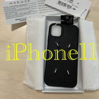 マルタンマルジェラ(Maison Martin Margiela)の正規新品 Maison Margiela iPhone11 携帯カバー(iPhoneケース)