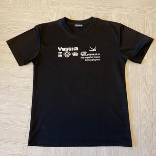 ヤサカ(Yasaka)のヤサカ☆卓球Tシャツ ニャンコ(卓球)