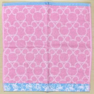 ディズニー(Disney)の《未使用》ディズニー ミッキー 大きめ タオル 35×35センチ ピンク(制汗/デオドラント剤)
