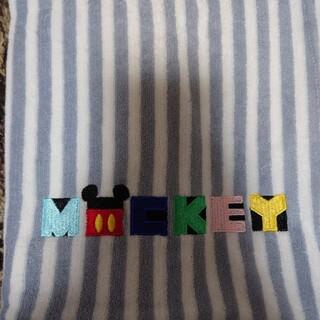 ディズニー(Disney)の2枚セット!ディズニー、ミッキーのタオル地の枕カバー(シーツ/カバー)