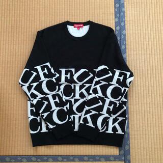 Supreme - supreme 20fw Fuck Sweater