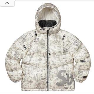 Supreme - Supreme Hooded Down Jacket RECEIPTS Sサイズ