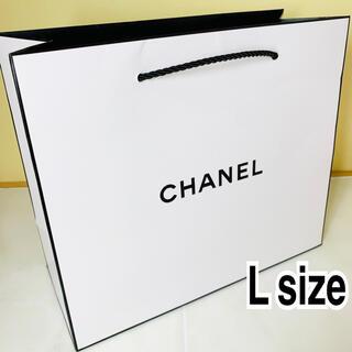 シャネル(CHANEL)のCHANEL シャネル ショップ袋 ブランド紙袋 実用的な大きさ ラージサイズ (その他)