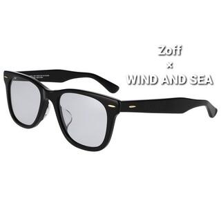 Zoff - 【新品・未使用】Zoff × WIND AND SEA サングラス ブラック