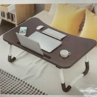 折り畳み式 ミニローテーブル ブラック(ローテーブル)