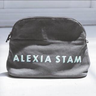 ALEXIA STAM - ALEXLA STAM ロゴポーチ (ラージサイズ)