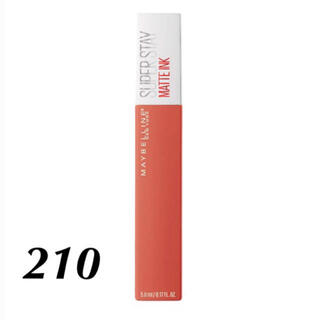 MAYBELLINE - Maybelline 💄 spステイ マットインク 210