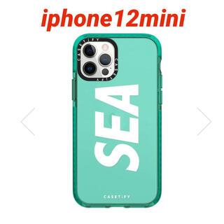 シー(SEA)のCASETIFY × WIND AND SEA iPhone12miniケース(iPhoneケース)