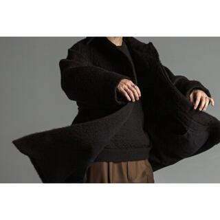 マーカウェア(MARKAWEAR)の【コン様専用】新品未使用Text Wanderer Coat Black 1 (ステンカラーコート)