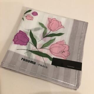 レノマ(RENOMA)のrenomaハンカチ大判☆新品未使用品(ハンカチ)