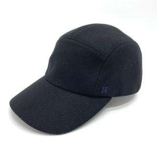 Hermes - 新品同様 エルメス キャップ ネバダ 帽子 ブラック