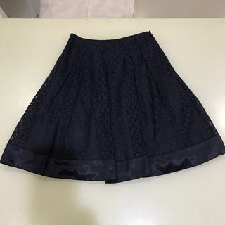 レストローズ(L'EST ROSE)のレストローズ レーススカート Mサイズ(ひざ丈スカート)