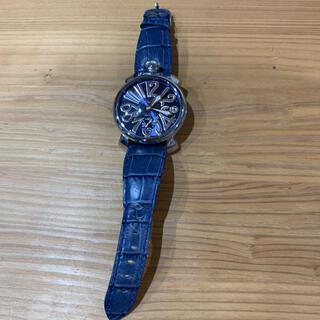 ガガミラノ(GaGa MILANO)のガガミラノ 時計(レザーベルト)