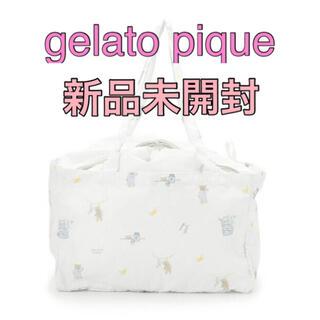 gelato pique - レジかごトートバッグ・エコバッグ◆ジェラートピケ・モーニングベア🧸