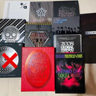 ビッグバン(BIGBANG)のBIGBANG YG DVD 10点セット(ミュージック)